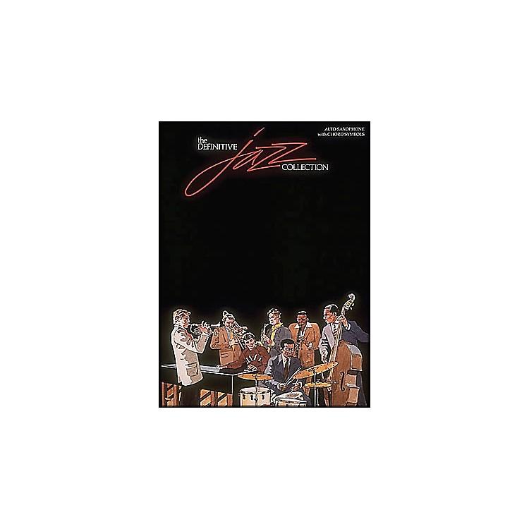 Hal LeonardDefinitive Jazz Collection Alto Saxophone with Chord Symbols