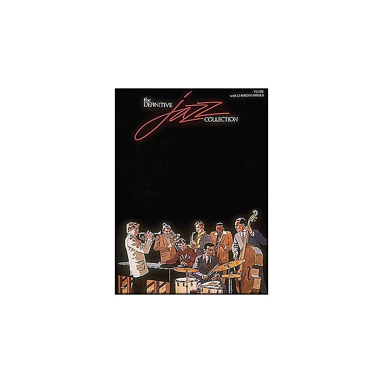 Hal Leonard Definitive Jazz Collection Flute with Chord Symbols
