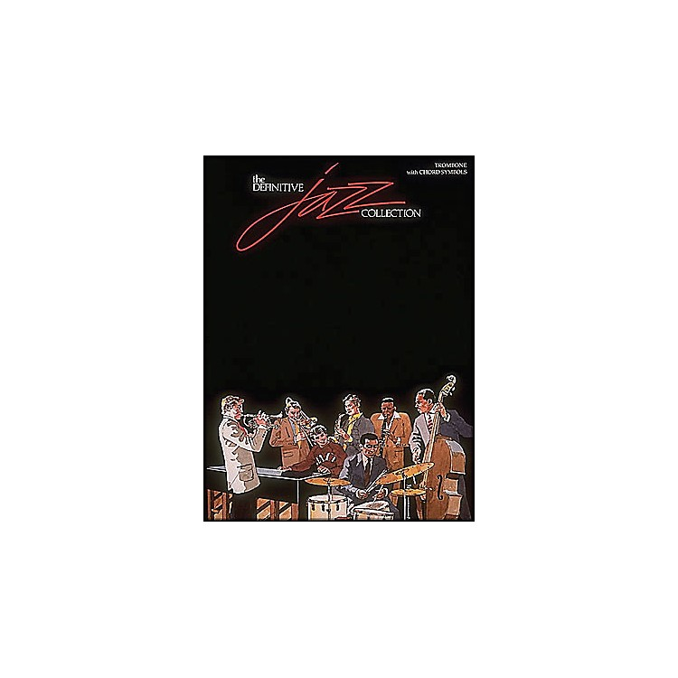 Hal LeonardDefinitive Jazz Collection Trombone with Chord Symbols