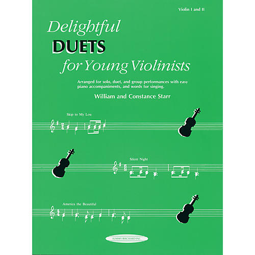 Alfred Delightful Duets for Young Violinists, Violin Part (Book)