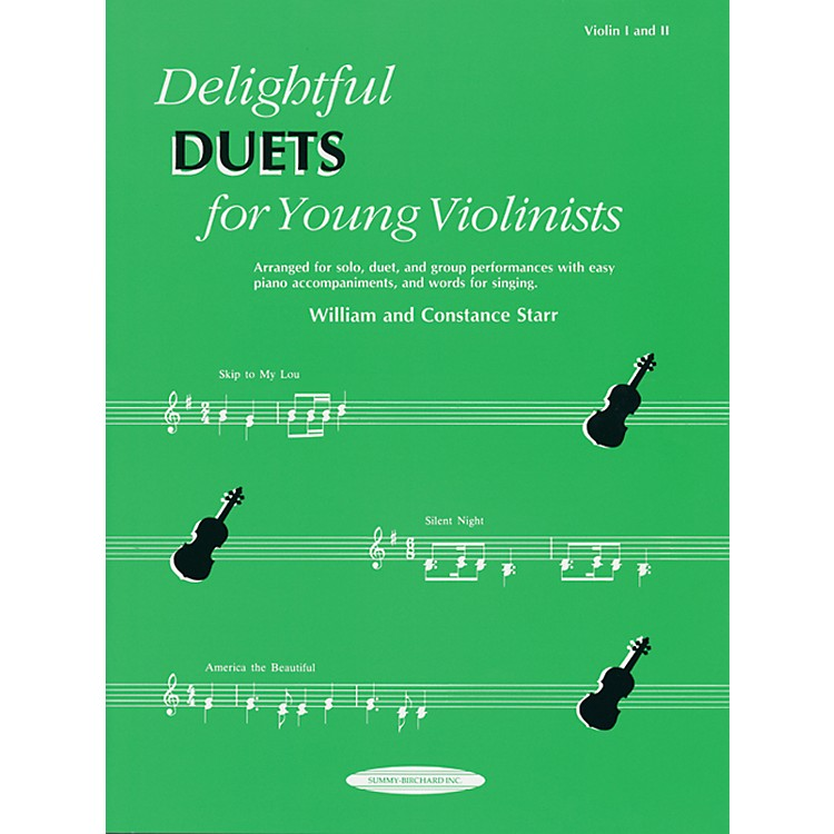 AlfredDelightful Duets for Young Violinists, Violin Part (Book)
