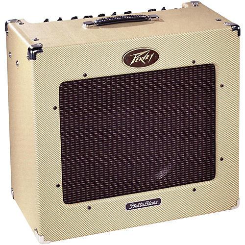 peavey delta blues 30w 1x15 tube combo guitar amp musician 39 s friend. Black Bedroom Furniture Sets. Home Design Ideas