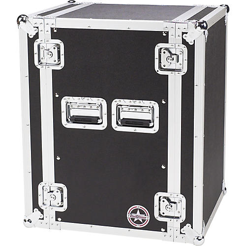 Road Runner Deluxe 16U Amplifier Rack Case