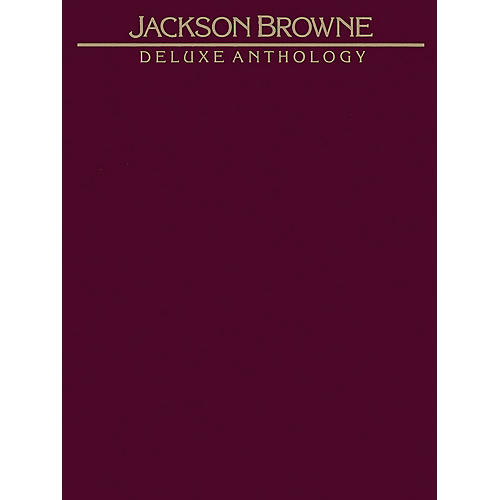 Alfred Deluxe Anthology by Jackson Browne  Vocal, Piano/Chord Book-thumbnail