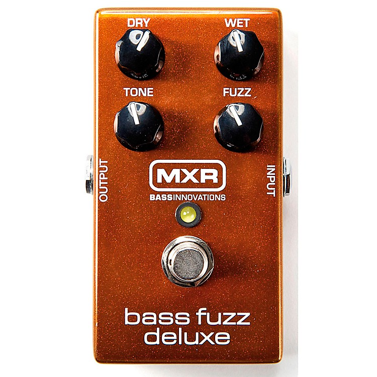 MXRDeluxe Bass Fuzz Effects Pedal