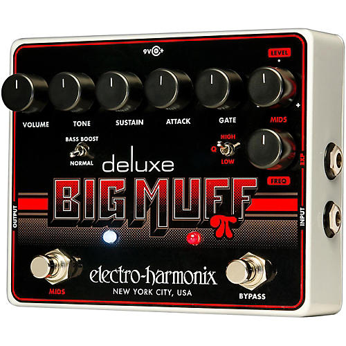 Electro-Harmonix Deluxe Big Muff Pi Sustain Guitar Effects Pedal