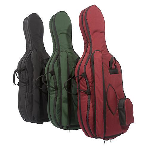 Mooradian Deluxe Cello Bag 1/2 Green