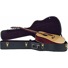 Musician's Gear Deluxe Dreadnought Case Black