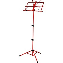Strukture Deluxe Folding Music Stand - Assorted Colors Red
