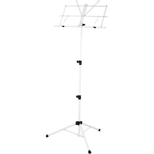 Strukture Deluxe Folding Music Stand White