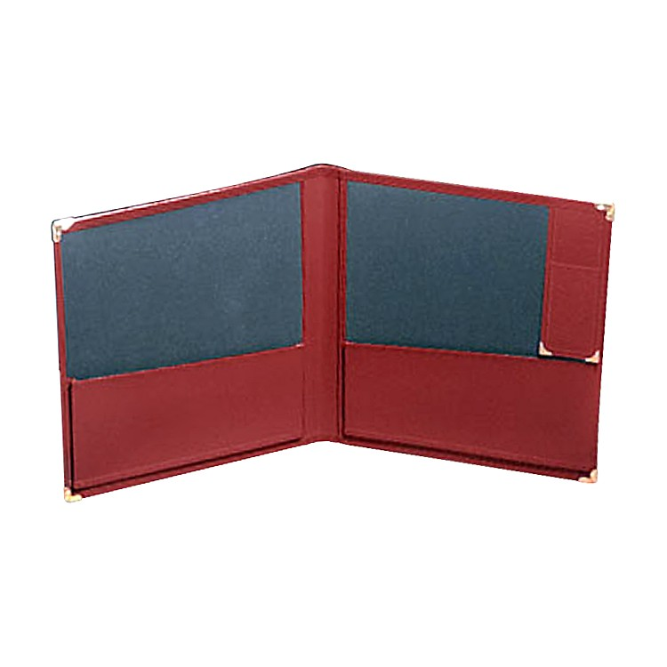 Deer River Deluxe Grand Concert Band Folio With Pencil Holder Black
