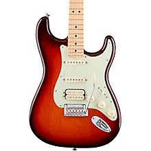 Deluxe HSS Stratocaster with Maple Fingerboard Tobacco Sunburst