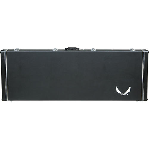 Dean Deluxe Hardshell Electric Bass Guitar Case For Metalman V Series Black