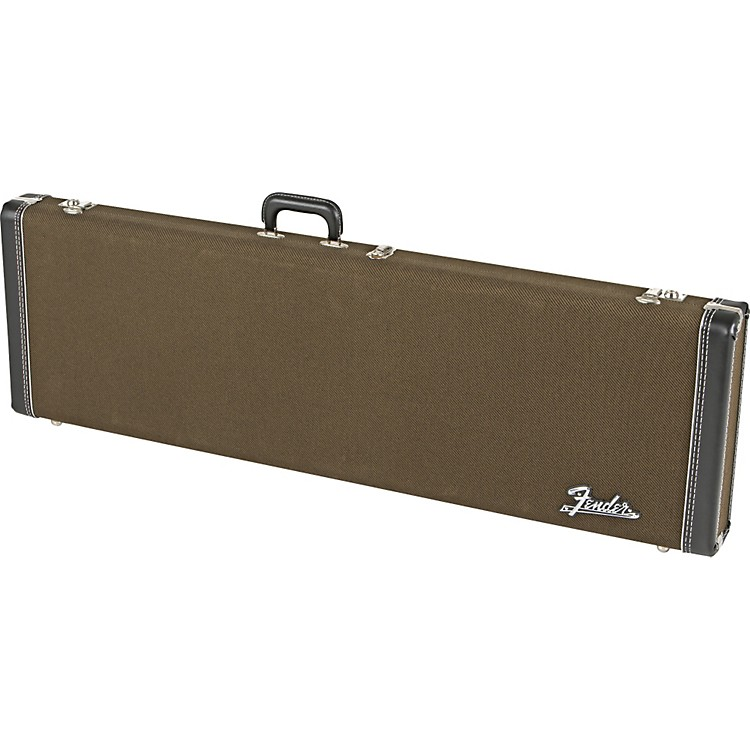 fender deluxe hardshell jazz bass guitar case musician 39 s friend. Black Bedroom Furniture Sets. Home Design Ideas