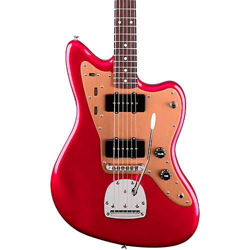 Squier Deluxe Jazzmaster TR with Rosewood Fingerboard Electric Guitar-thumbnail