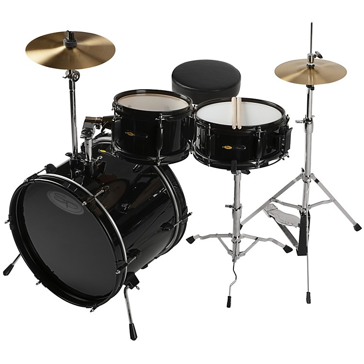 Sound Percussion Deluxe Jr. 3-Piece Drum Set