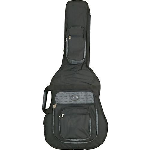 Fender Deluxe Jumbo Acoustic Guitar Gig Bag-thumbnail