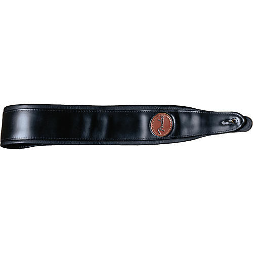 Fender Deluxe Leather Strap with Pad
