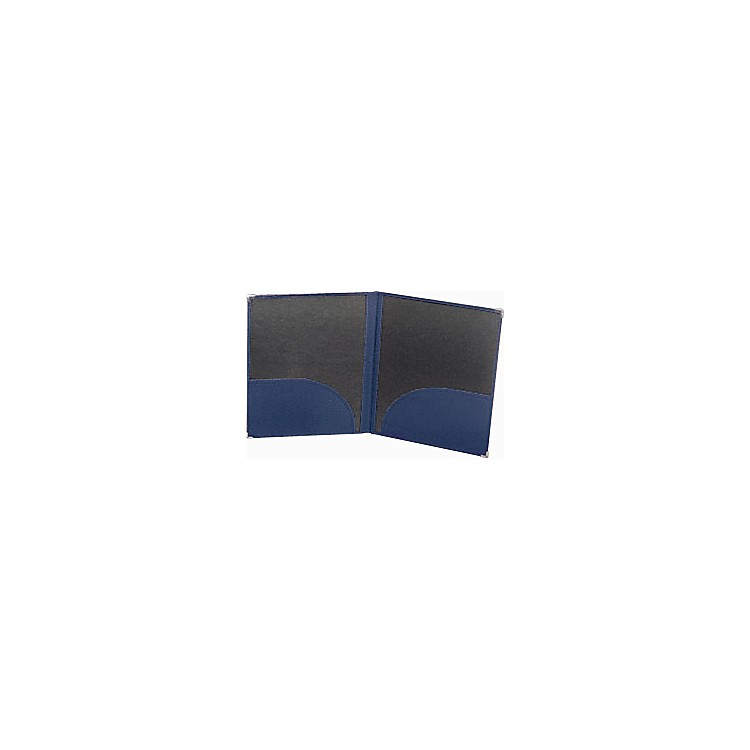 Deer River Deluxe Leatherette Band Folio Blue