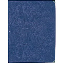 Deer River Deluxe Leatherette Choral Folio Blue