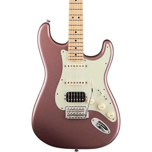Fender Deluxe Lone Star Stratocaster Electric Guitar Burgundy Metallic Maple Fretboard