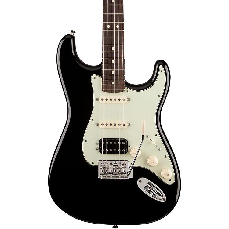 FenderDeluxe Lonestar Stratocaster Electric GuitarBlackRosewood Fretboard