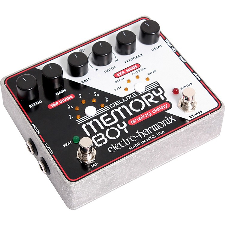 Electro-Harmonix Deluxe Memory Boy Delay Guitar Effects Pedal