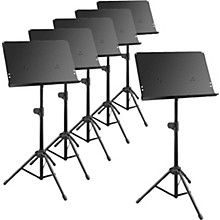 Musician's Gear Deluxe Music Stand 6-Pack