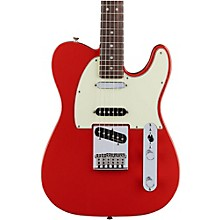 Fender Deluxe Nashville Rosewood Fingerboard Telecaster Faded Fiesta Red