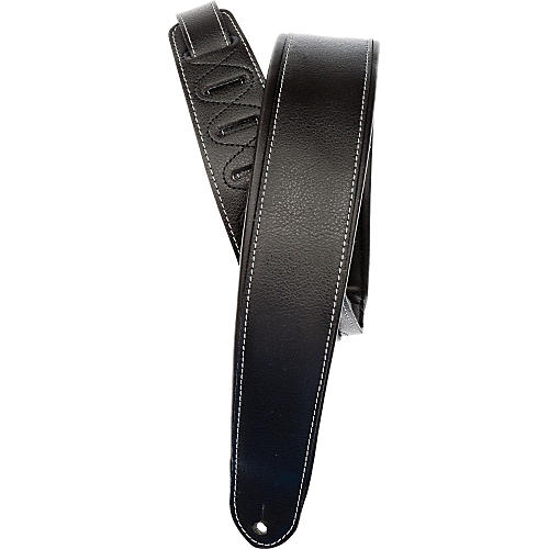 D'Addario Planet Waves Deluxe Padded Leather Strap-thumbnail
