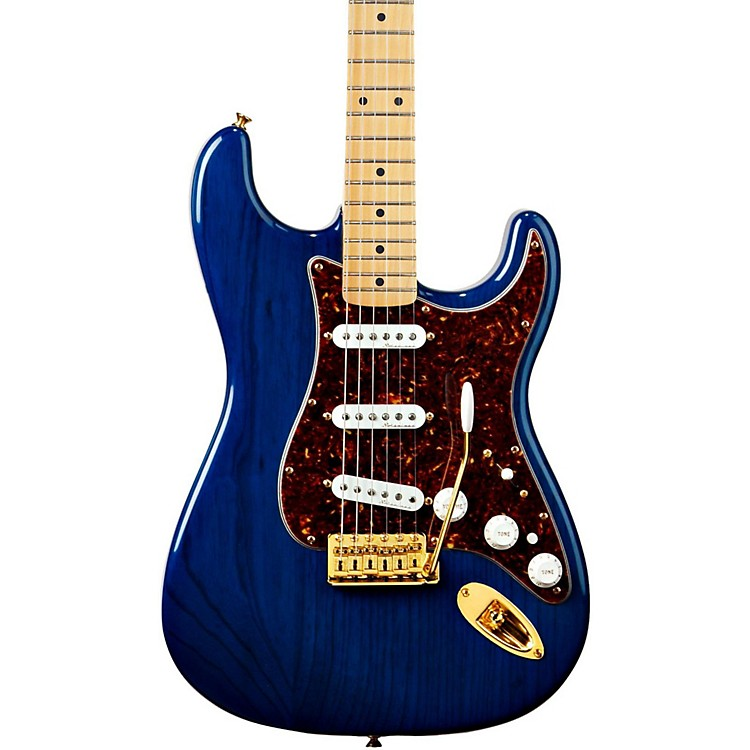 Fender Deluxe Player's Stratocaster Electric Guitar 3-Color Sunburst Maple Fretboard
