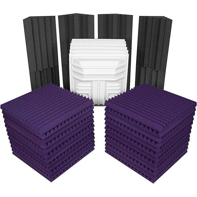 AuralexDeluxe Plus Roominator KitCharcoal/Purple