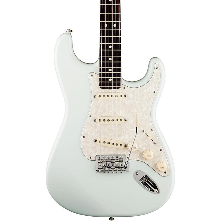 FenderDeluxe Roadhouse Stratocaster Electric GuitarVintage WhiteMaple Fretboard