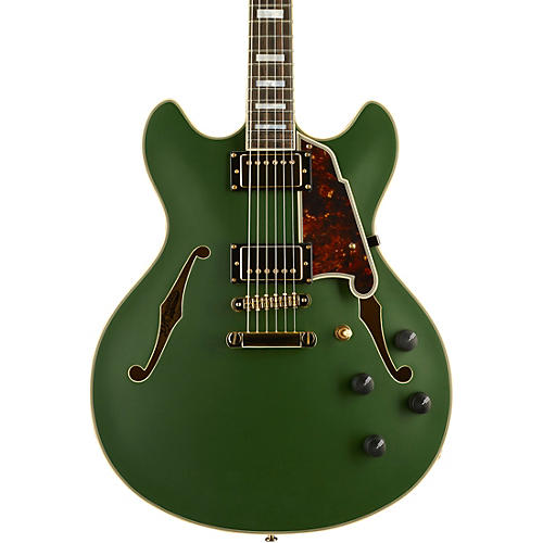 D'Angelico Deluxe Series Limited Edition DC Semi-Hollowbody Electric Guitar