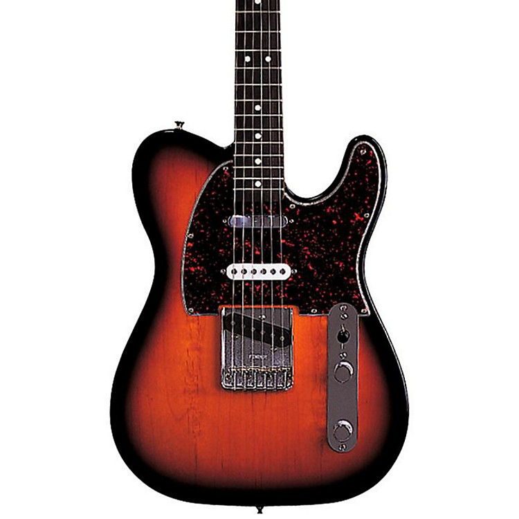 Fender Deluxe Series Nashville Telecaster Electric Guitar Brown Sunburst Rosewood Fretboard