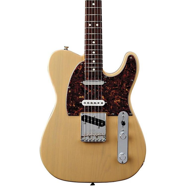 FenderDeluxe Series Nashville Telecaster Electric GuitarBrown SunburstMaple Fretboard