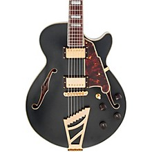D'Angelico Deluxe Series SS Semi-Hollowbody Electric Guitar with Custom Seymour Duncan Pickups and Stairstep Tailpiece