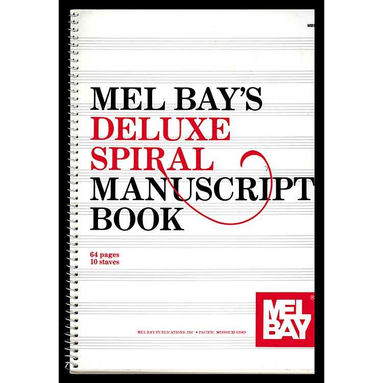 Mel BayDeluxe Spiral Bound Manuscript Book