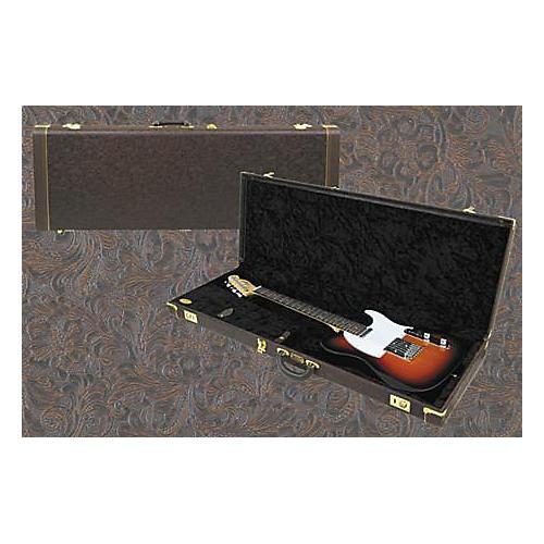 Fender Deluxe Tooled Western Strat/Tele Guitar Case