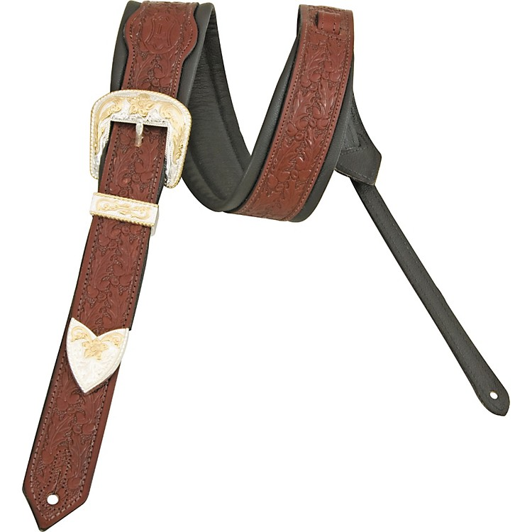 Levy'sDeluxe Vintage Leather Guitar Strap