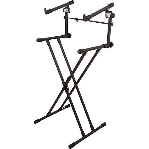 On-Stage Stands Deluxe X 2-Tier Keyboard Stand-thumbnail