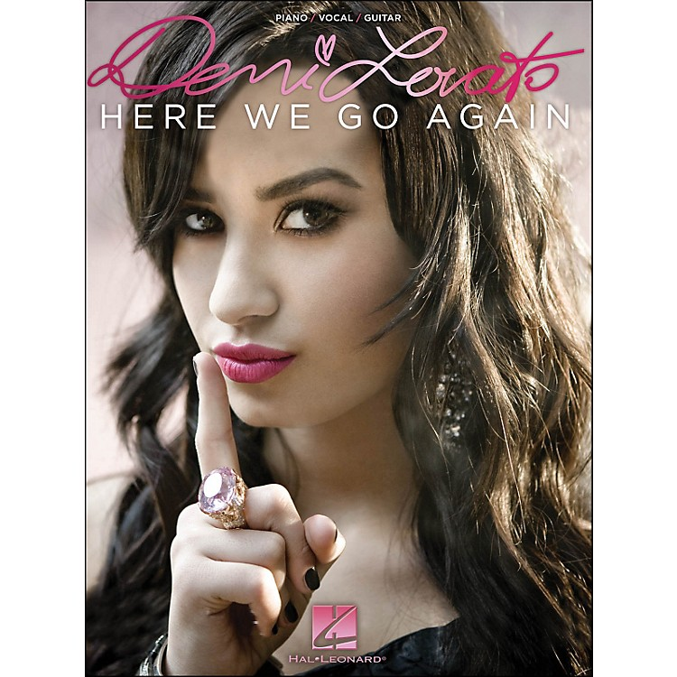 Hal LeonardDemi Lovato - Here We Go Again arranged for piano, vocal, and guitar (P/V/G)