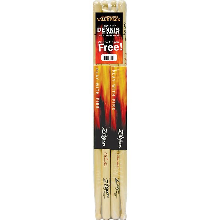 ZildjianDennis Chambers Drumsticks, Buy 3 Get 1 Free