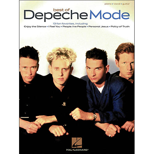 Hal Leonard Depeche Mode, Best Of arranged for piano, vocal, and guitar (P/V/G)-thumbnail