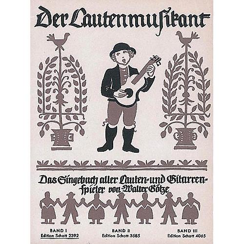 Schott Der Lautenmusikant Band 1 (German Language) Schott Series Softcover