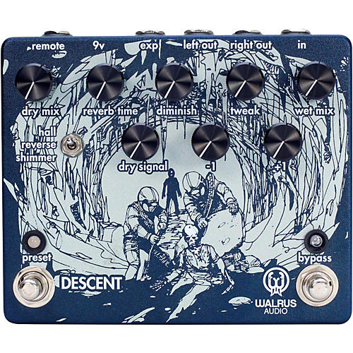 Walrus Audio Descent Reverb/Octave Machine-thumbnail
