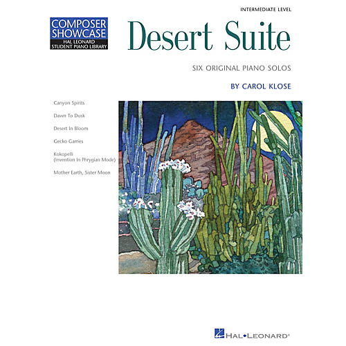Hal Leonard Desert Suite Piano Library Series by Carol Klose (Level Early Inter)-thumbnail