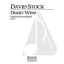 Lauren Keiser Music Publishing Desert Wind for Solo English Horn LKM Music Series