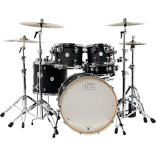 DW Design Series 5-Piece Lacquer Shell Pack with Chrome Hardware-thumbnail