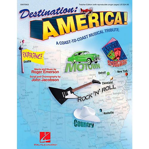 Hal Leonard Destination America - A Coast-to-Coast Musical Tribute Classroom Kit